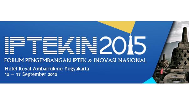 Forum Tahunan Pengembangan Iptek dan Inovasi Nasional (IPTEKIN) 2015 dan 12th ASIALICS International Conference