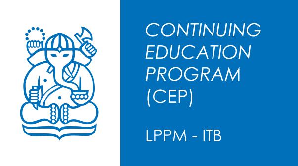 Continuing Education Program – LPPM ITB: Pelatihan Penentuan Posisi Menggunakan Teknologi GNSS Tingkat Lanjut Angkatan III