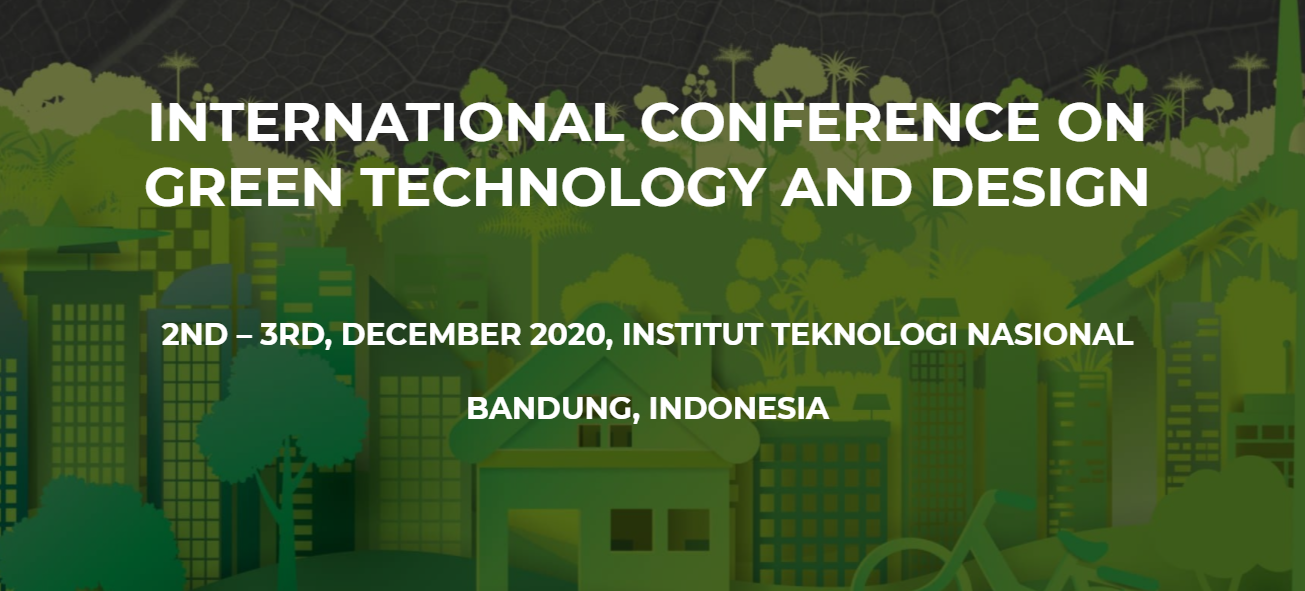 "Seminar ""The 2nd International Conference on Green Technology and Design (ICGTD) 2020"""