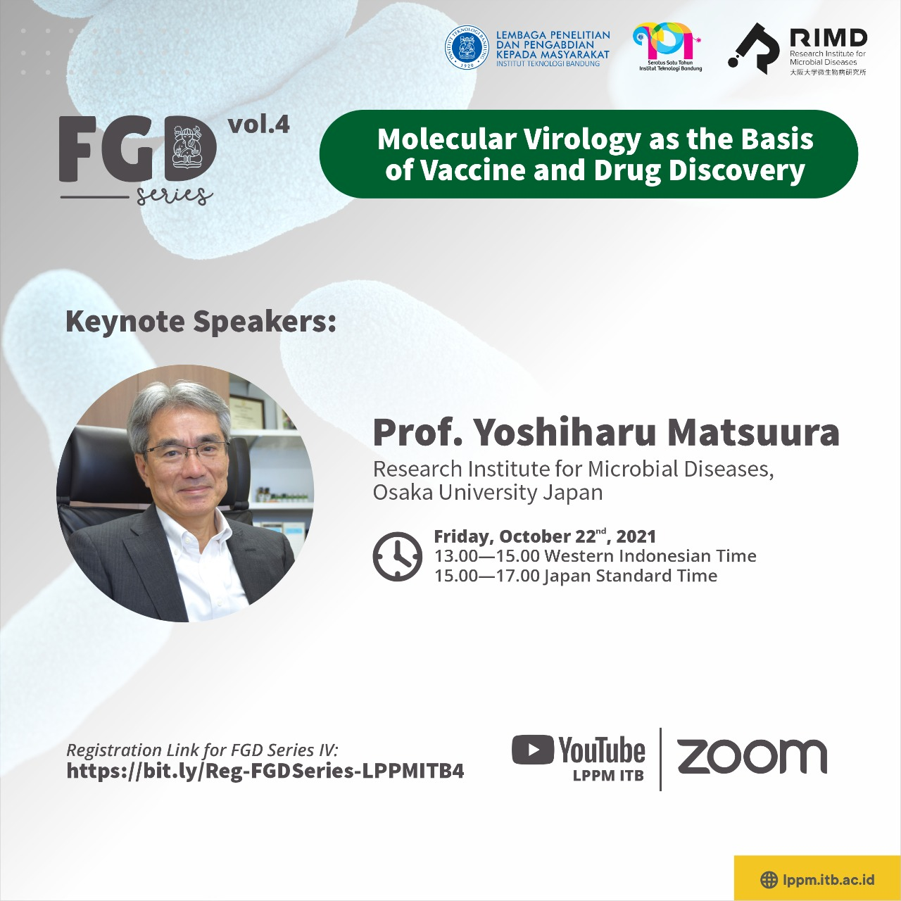 """FGD LPPM ITB Vol. IV """"Molecular Virology as The Basis of Vaccine and Drug Discovery"""""""